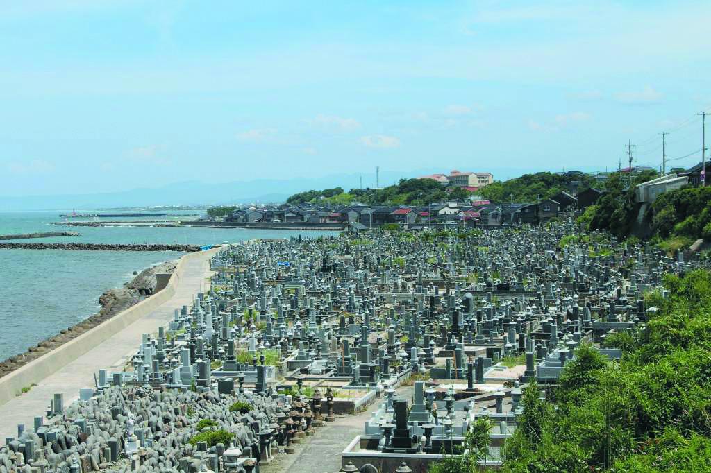 花見潟墓地